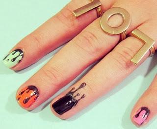 A nova tendência da Nail Art!