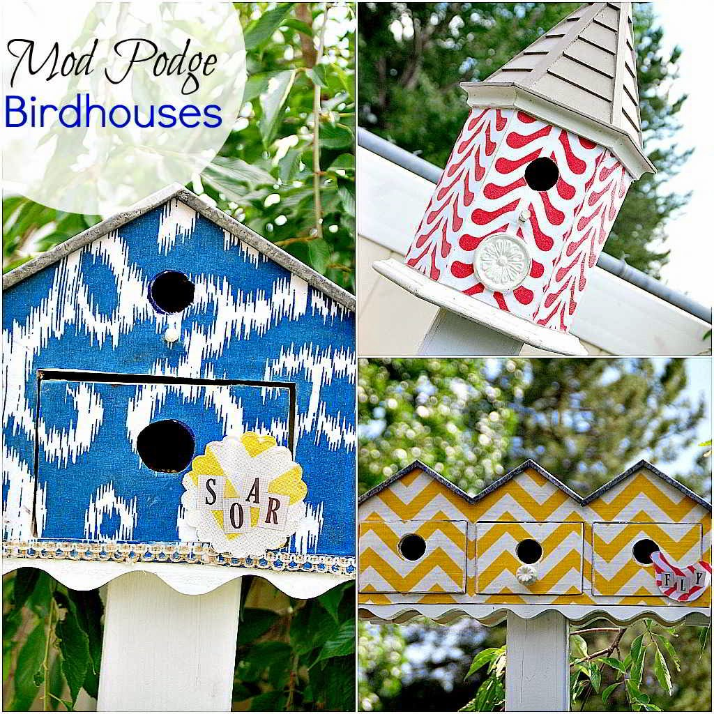 20 Ideas to Make Birdhouses