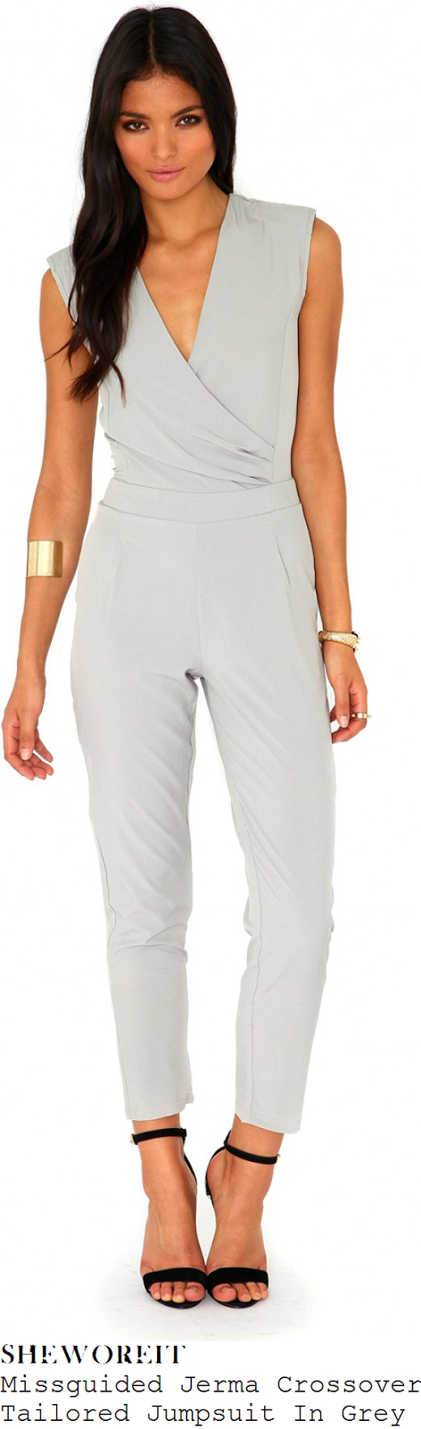 jessica-wright-light-grey-crossover-front-tailored-jumpsuit