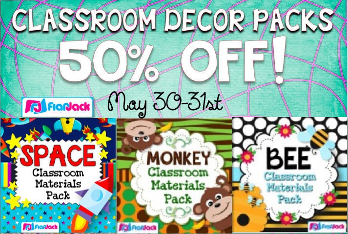 Classroom Decor For Sale ~ Flapjack educational resources facebook fans