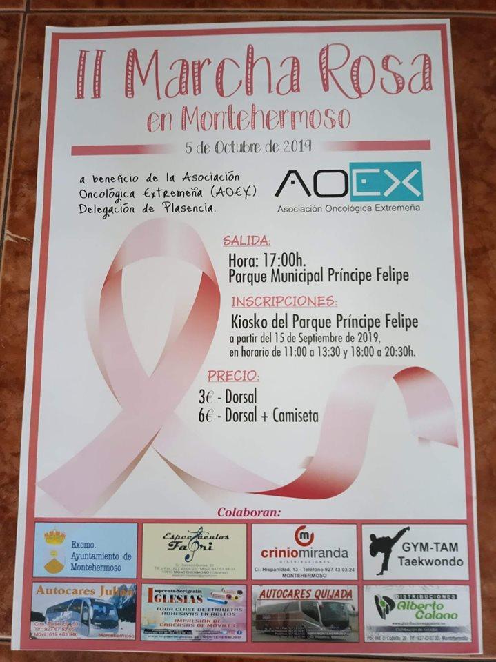 II Marcha Rosa - 5 octubre 2019