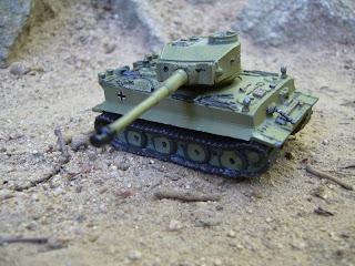 carro de combate en miniatura de la 2ª Guerra Mundial Tiger I