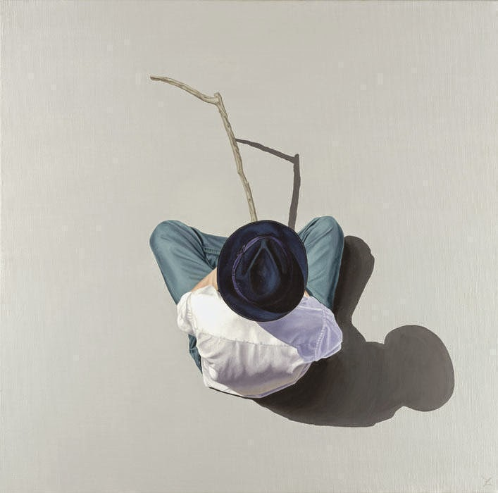 17-A-Steinbeck-Moment-Nigel-Cox-Photo-realistic-Minimalism-in-Surreal-Paintings-www-designstack-co