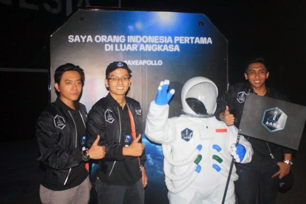 Tiga Calon Astronot Pertama Indonesia Siap Jalani Test di Florida