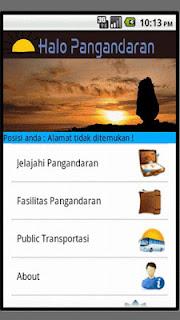 Halo Pangandaran - Aplikasi Peta Wisata Pangandaran untuk Hp Android