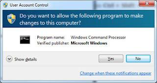 Windows 7 - Controle de Usuário