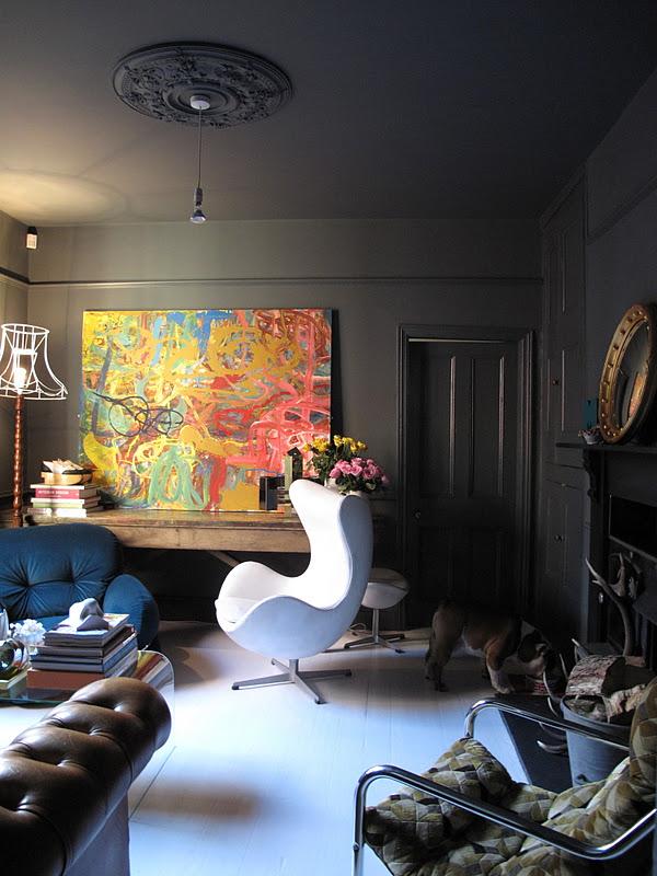 Arne Jacobsen Egg Chair + Foot Stool In White Leather.