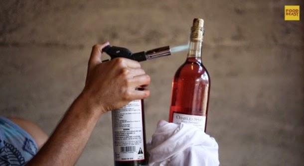 10 formas de abrir uma garrafa de vinho sem saca-rolhas (com video)