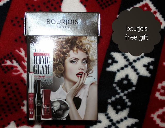 bourjois free gift