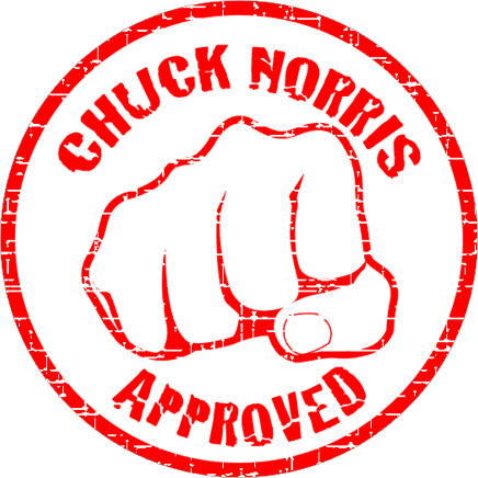 Isaac Black Chuck-norris-approved