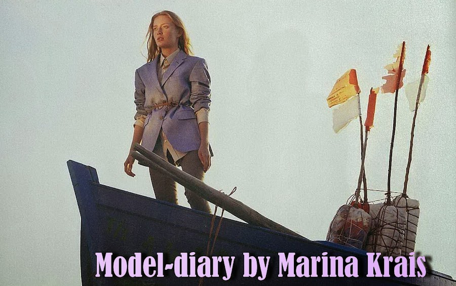 Model-diary by Marina Krais