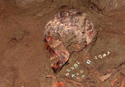 Ancient Egyptian necklace found in grave of Siberian princess 
