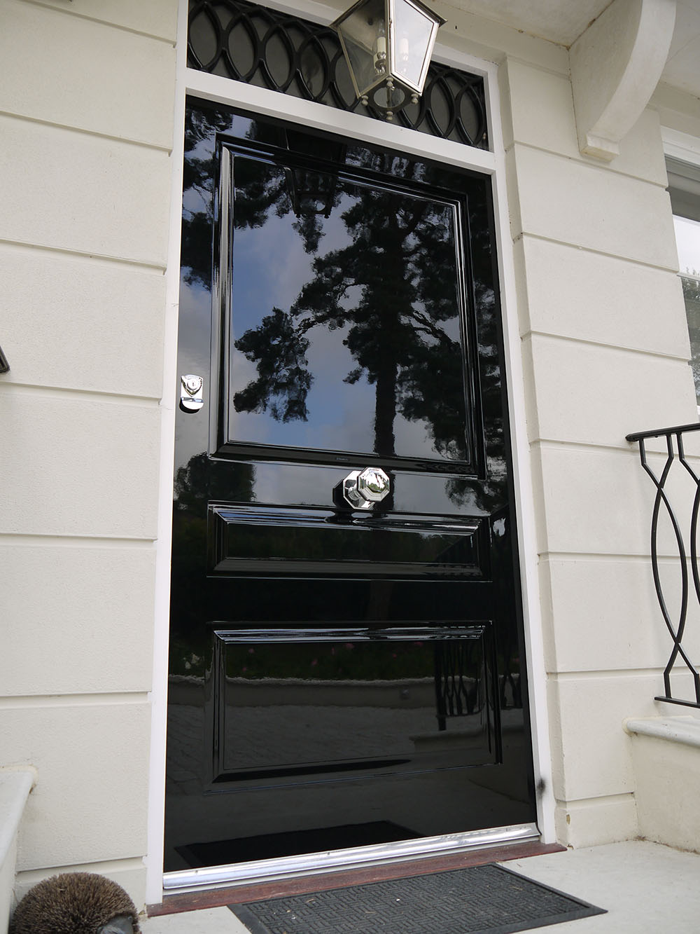 Lacquer Paint Door : Swd resources high gloss piano finish front doors