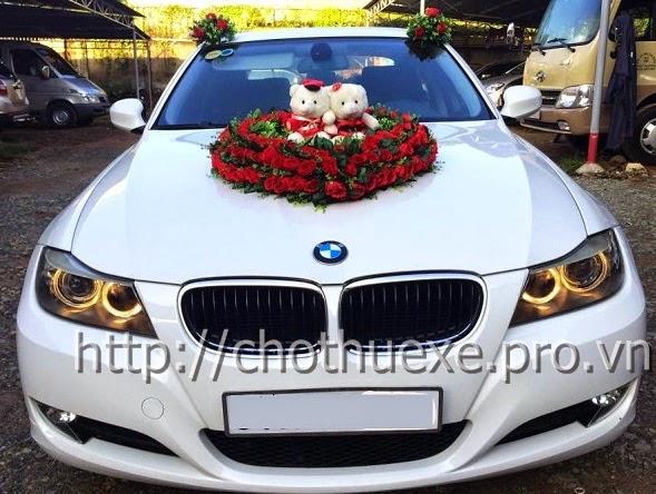 Cho thuê xe cưới BMW 320i - xe hạng sang Đức Vinh Trans