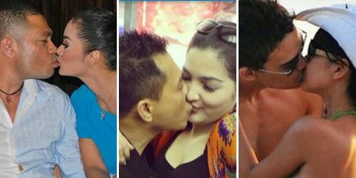 10 ciuman paling hot artis indonesia     terkenal