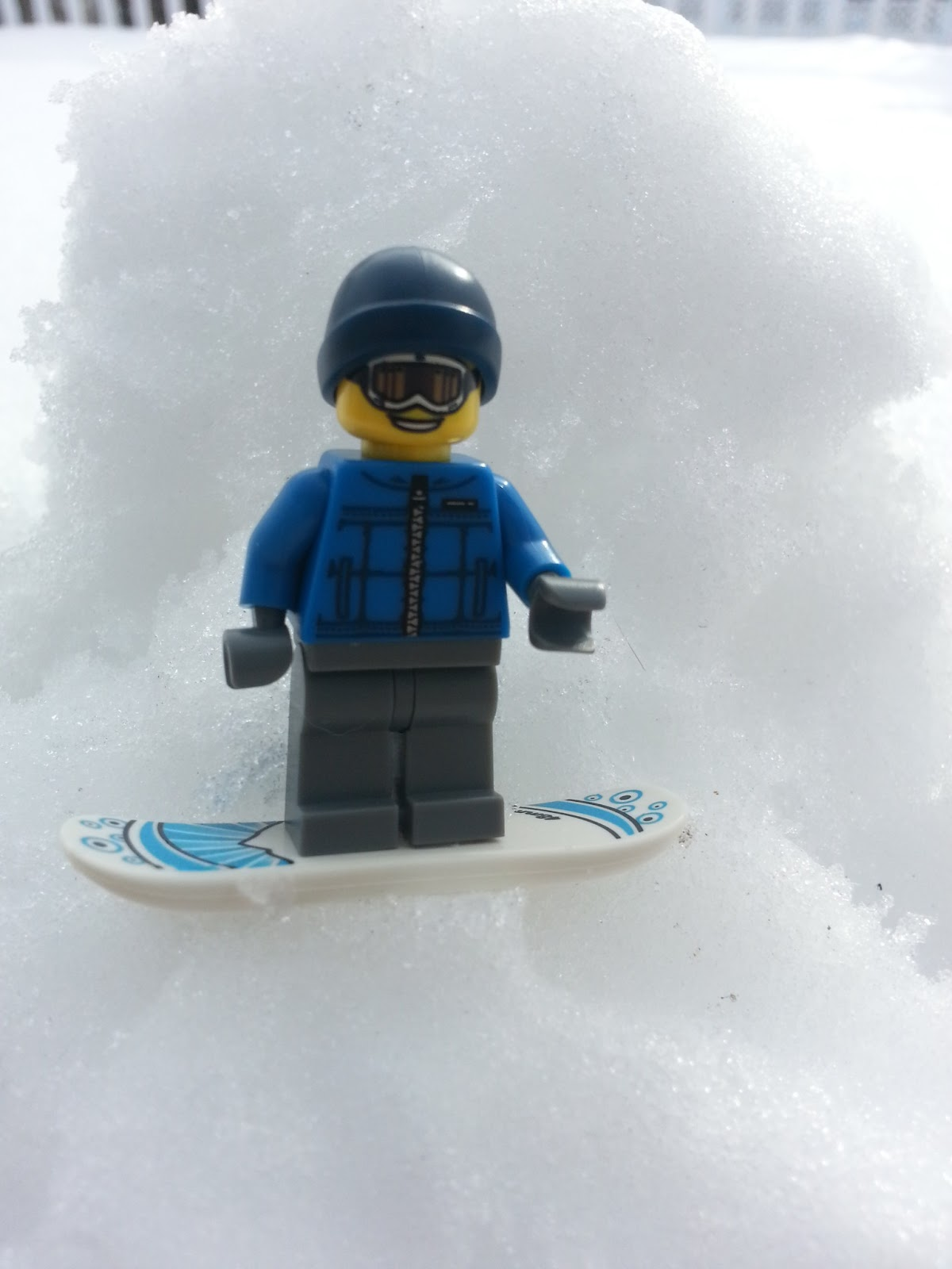 Lego Minifigures Snowboarder Minifigure Museum Snowboarder