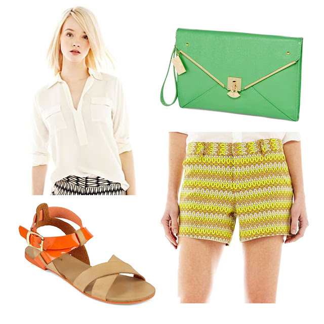 joe fresh, spring, outfit, shorts, summer