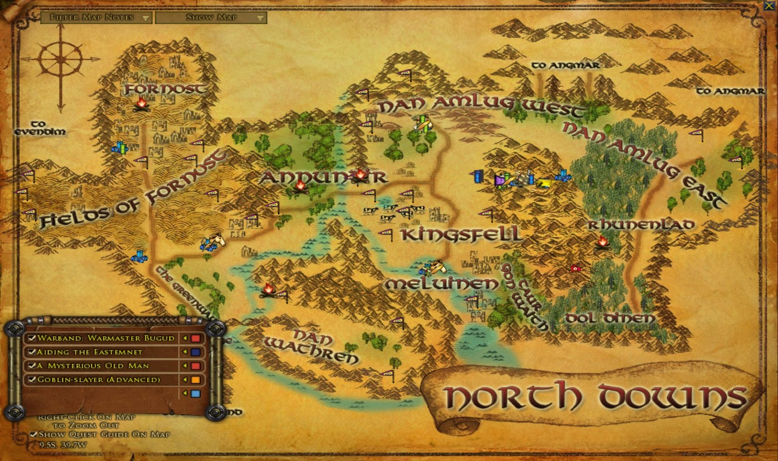 Wonderful Places in LOTROs Middle Earth Exploring