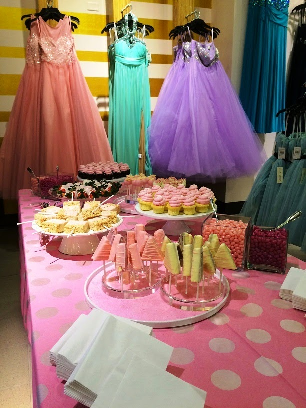 nordstrom bethesda prom party candy buffet
