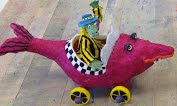 Click on the Alligator Fish Boat for more of Today's Art Room Report