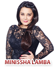 Minissha Lamba Bigg Boss Season 8 Contestant.