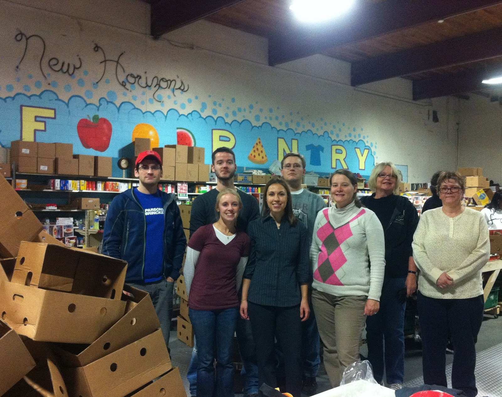 ASCE-NH Younger Members: New Horizons Soup Kitchen, Manchester NH