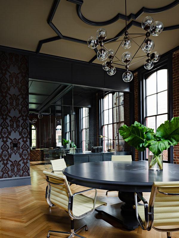 La oficina g tica the gothic office vintage chic for Decoracion oficinas vintage