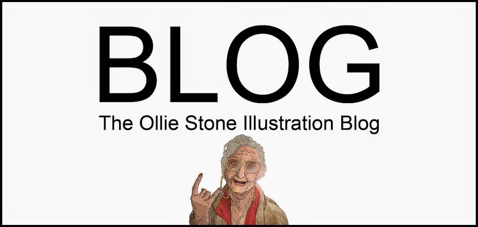 Ollie Stone Illustration by Ollie Stone