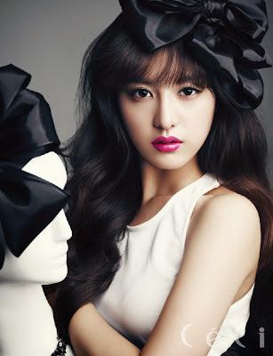 Kim Ji Won CeCi Magazine December 2013