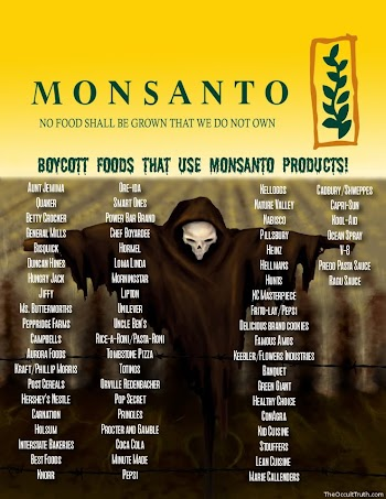 Μποϊκοτάρετε τα προϊόντα της MONSANTO! Είναι άκρως επικίνδυνα!