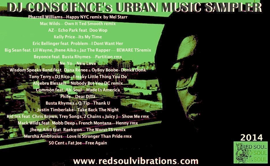 THE 2014 R.E.D.SOUL URBAN MUSIC SAMPLER