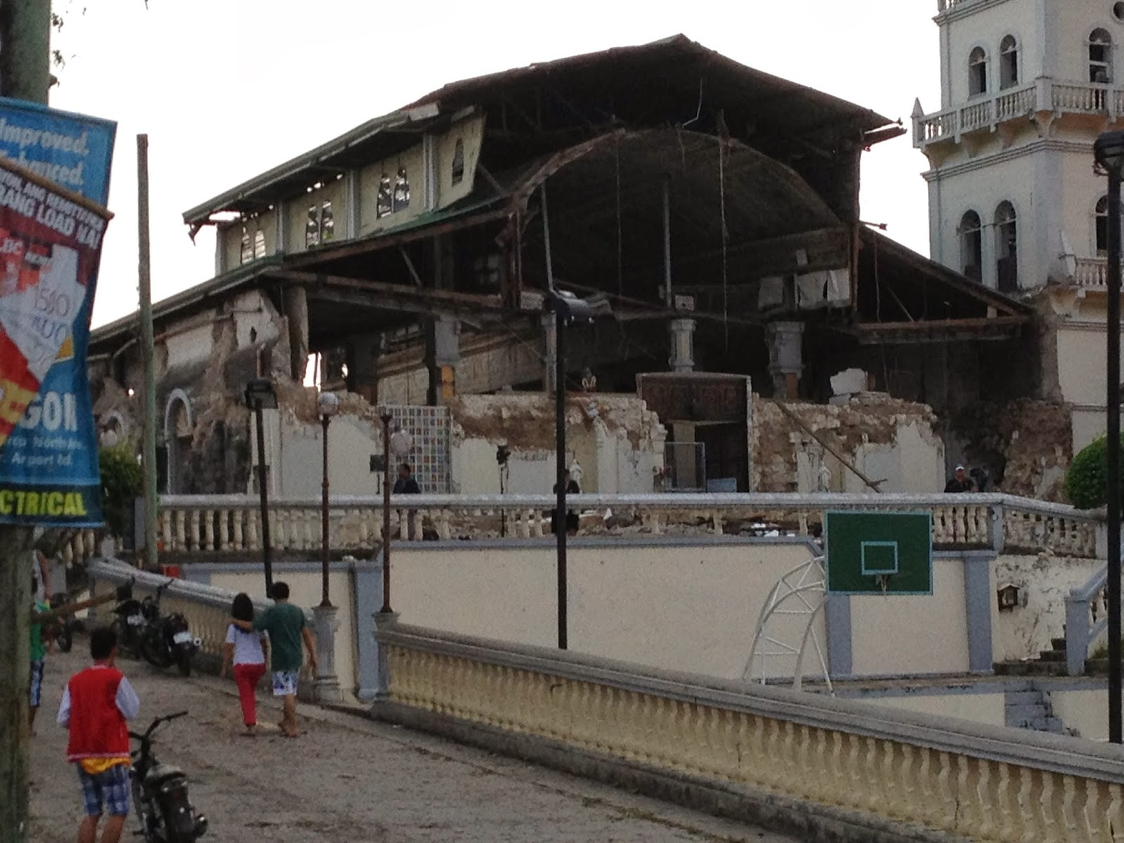 Church Destroyed on Bohol Quake