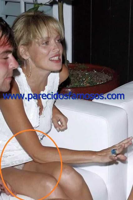 Sharon Stone descuidos de Famosos