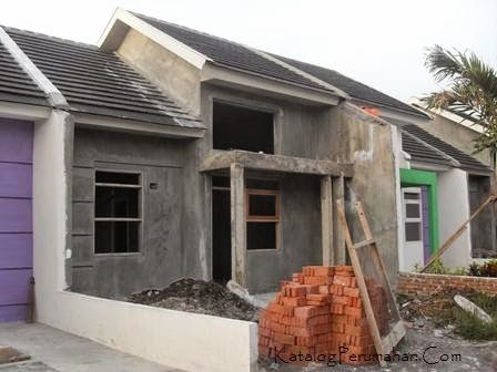 Rumah baru bangun  Perum Swan Menganti Mas