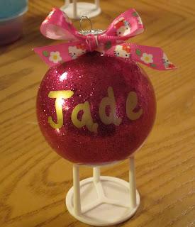 @mvemother #NUO2012 Glitter Filled Ornaments @lisastuf