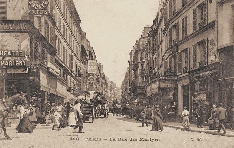 Didier goux habite ici revenons aux choses importantes for Restaurant le miroir rue des martyrs