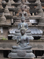 Buddhas, Gangaramaya Temple, Colombo