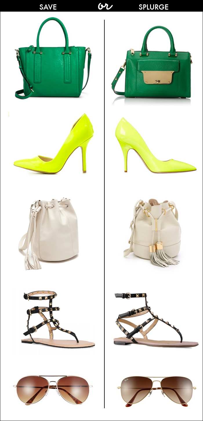 valentino look alike sandals, valentino rockstud sandals, aviator glasses, bucket bags, Milly