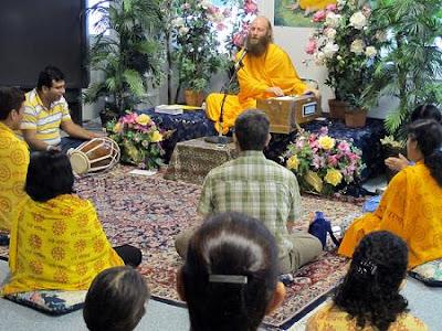Swami Nikhilanand, disciple of Jagadguru Kripaluji Maharaj