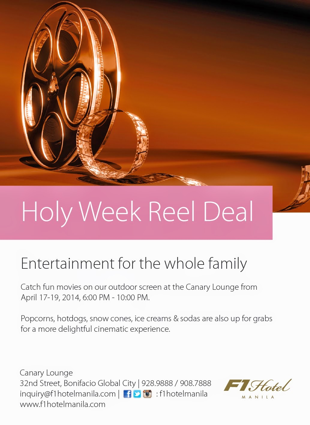 f1 holy week