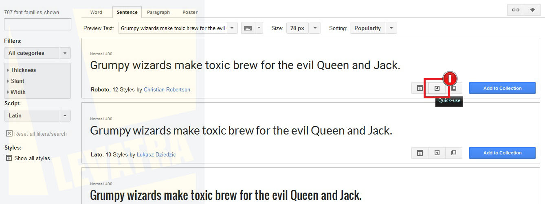 Cara Menambahkan Font ke Blog dari Google Fonts