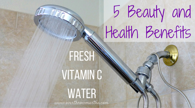 5 benefits of clean, fresh vitamin c water from shower filters for beautiful #skin and #hair without #toxic #chemicals