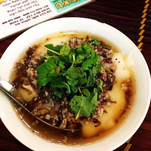 Vietnamese Plain rice flan