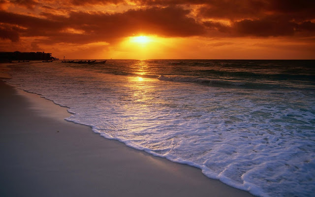 Sunset Beach Wallpapers, Sunrise Beach Wallpapers, Sunset, Sunrise, Beach, Wallpapers
