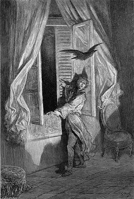 Edgar Allan Poe the Raven Dore