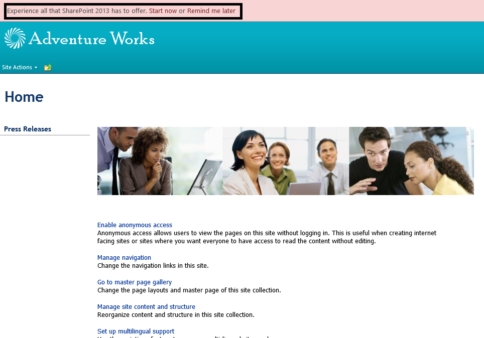 A Child\'s Technology Blog: Create a site collection in SharePoint ...