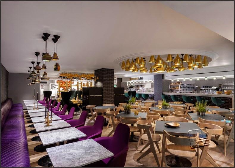 Design Cafe Modern bernuansa Luxurious