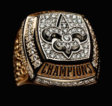 9. XLIV - New Orleans Saints