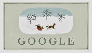 Google Doodles Mengucapkan Selamat Natal