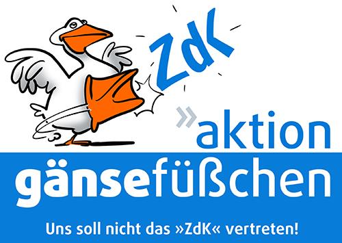 Huhn meets Ei unterstützt die Aktion Gänsefüßchen!